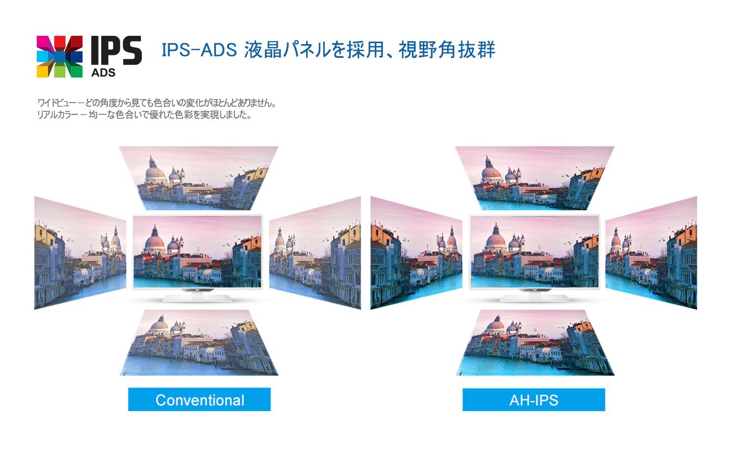 تکنولوژی AH-IPS یک گام فراتر از IPS