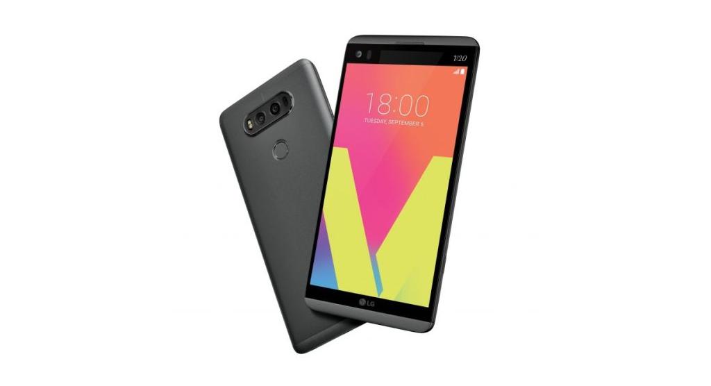 تلفن هوشمند LG V20 رونمایی شد