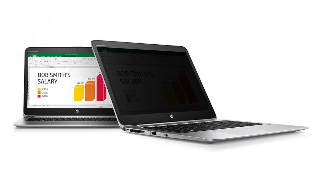 لپتاپ های HP و صفحه نمایش ضدجاسوسی