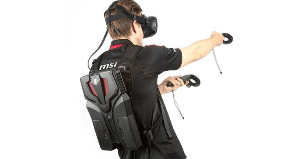 کوله پشتی گیمینگ VR