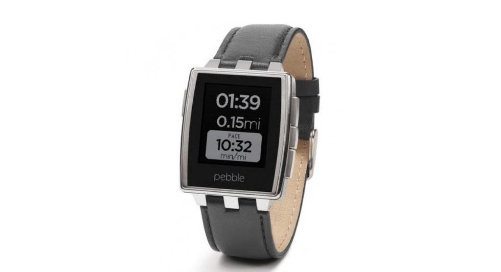 ساعت Pebble steel