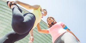 حرکات کششی قبل از دویدن