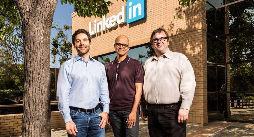 مایکروسافت شبکه اجتماعی لینکدین را به مبلغ 26 میلیارد دلار خریداری خواهد کرد