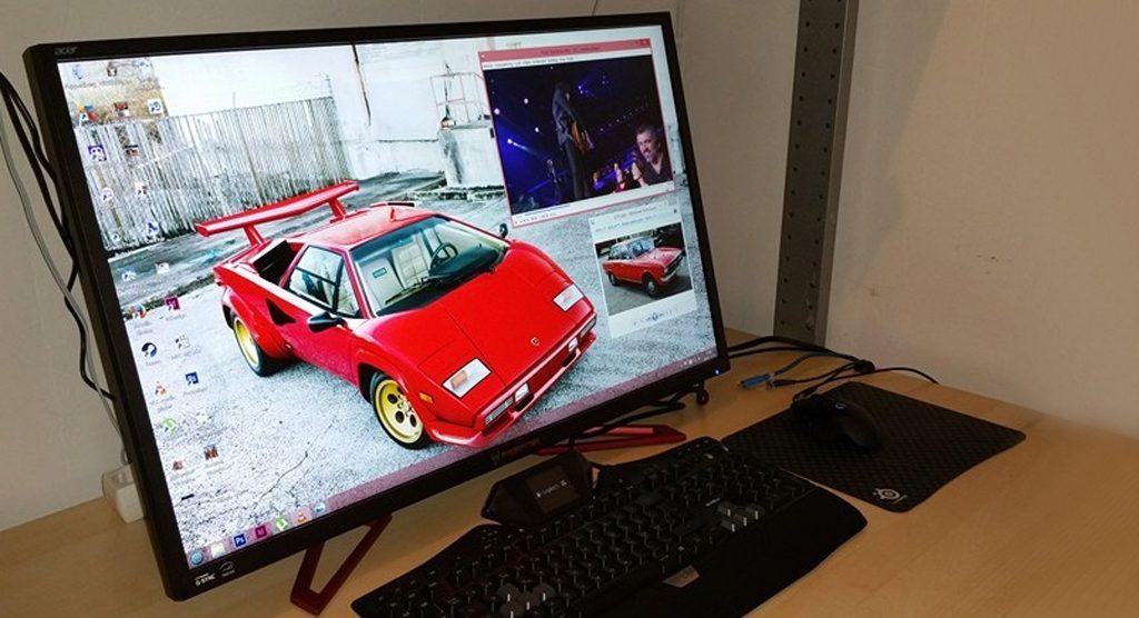 ایسر از مانیتور 4K جدید XB321HK رونمایی کرد