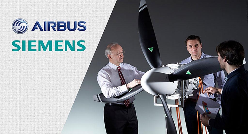 همکاری ایرباس و زمینس برای ساخت هواپیمای برقی