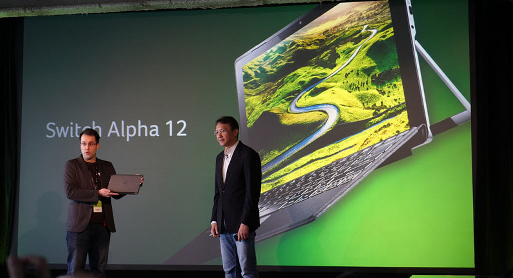آغاز پیش خرید تبلت هیبریدی Switch Alpha 12 ایسر