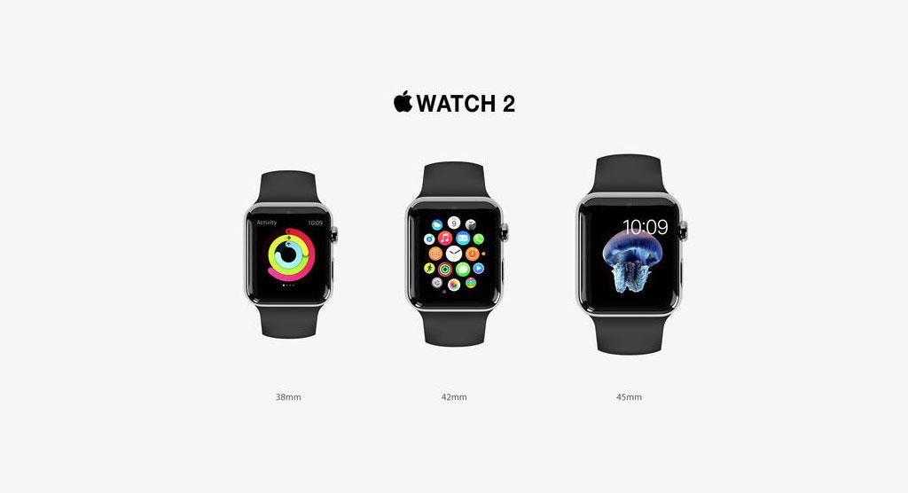 اپل واچ 2 با صفحه نمایش باریکتری همراست