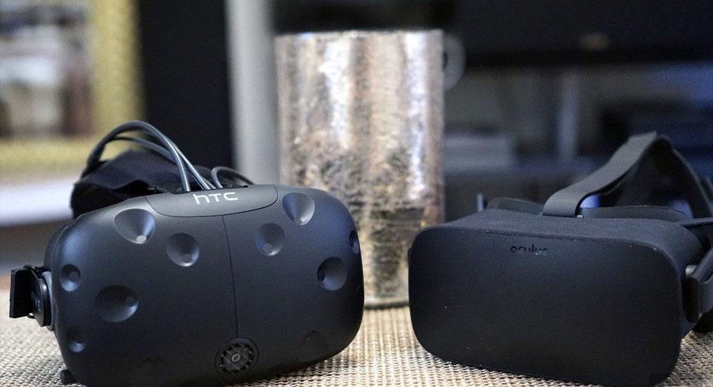 رقابت Oculus و HTC بر سر هدست های واقعیت مجازی خود