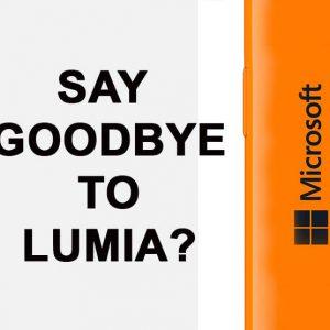 احتمال کناره گذاشته شدن تلفن های هوشمند لومیا توسط مایکروسافت