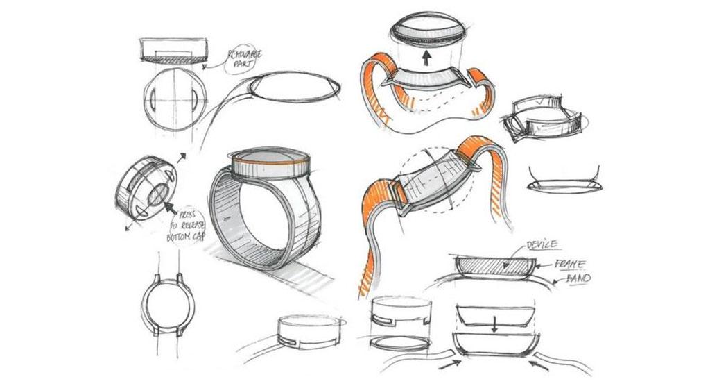تصویری از طراحی ساعت هوشمند وان پلاس به بیرون درز کرد