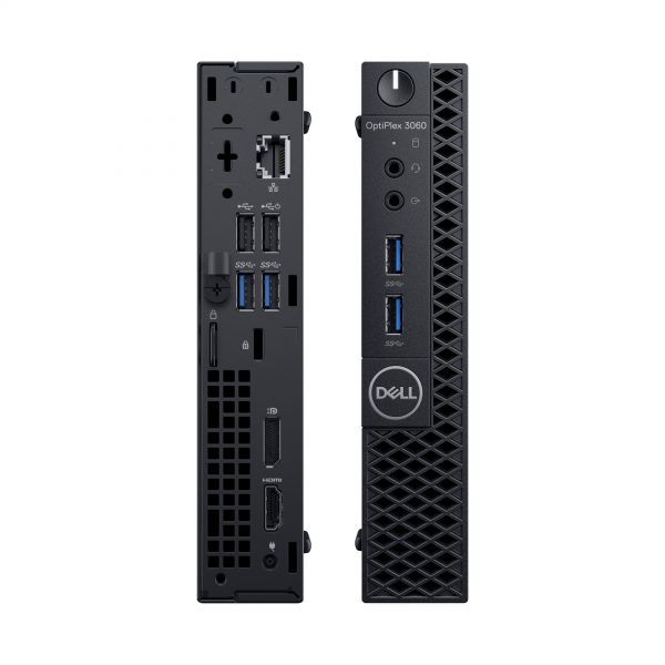 DELL OptiPlex 3060 8th gen Intel® Core™ i5 i5-8500T 4 GB DDR4-SDRAM 128 GB SSD Black MFF Mini PC