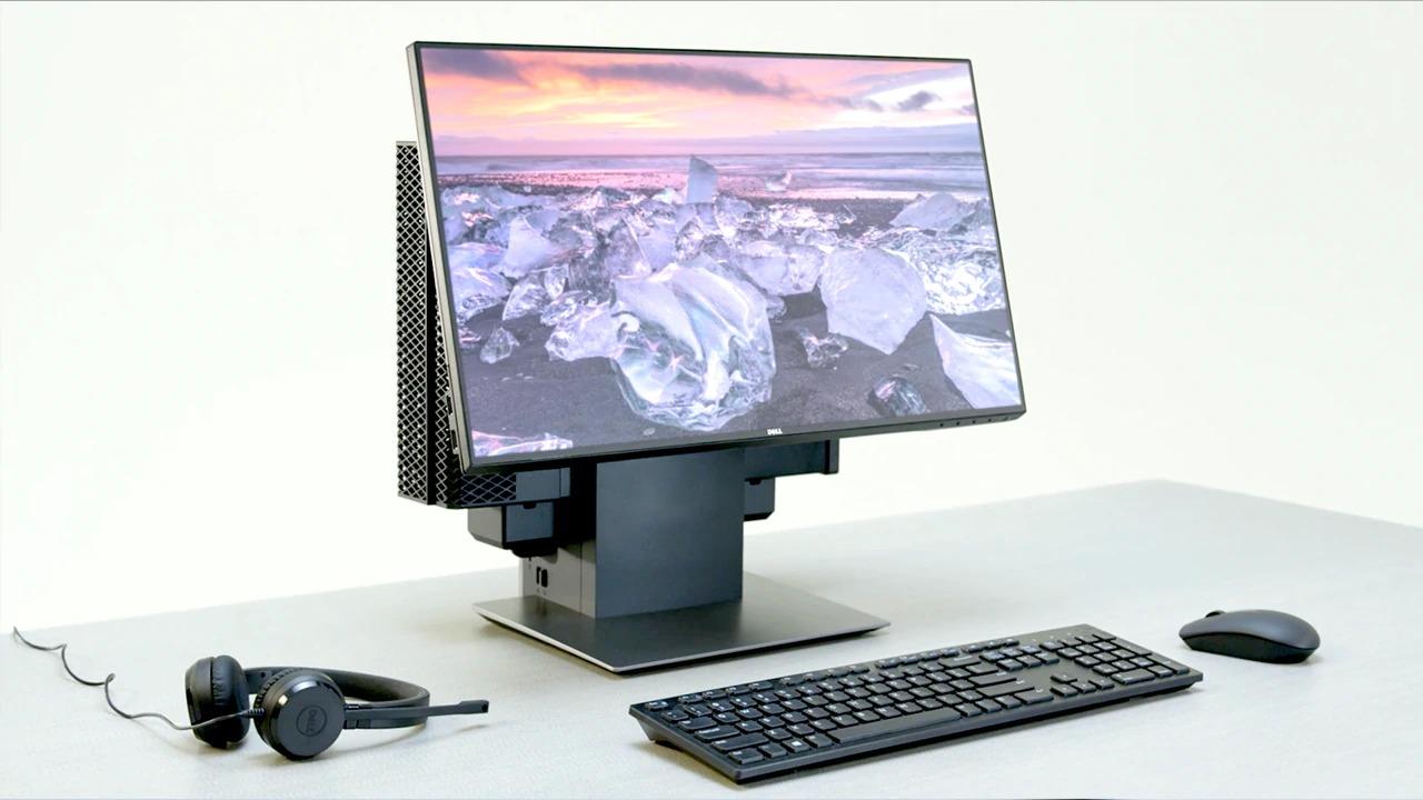 DELL OptiPlex 3060 8th gen Intel® Core™ i5 i5-8500T 4 GB DDR4-SDRAM 128 GB SSD Black MFF Mini PC