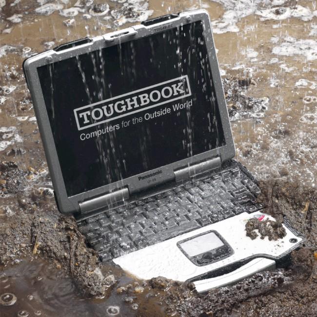 لپ تاپ هاي صنعتي با جنس بدنه محكم